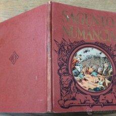 Libros de segunda mano: SAGUNTO Y NUMANCIA - HEROES Y GESTAS - T.B. MARRULL - EDITORIAL DALMAU CARLES. Lote 41552661