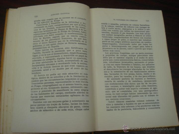 Libros de segunda mano: EL CONGRESO DE UTRECHT. 1946. COL. LUCHAS FRATICIDAS DE ESPAÑA. 2 TOMOS. 4ª EDICIÓN. - Foto 8 - 41640884