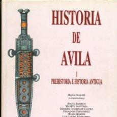 Libros de segunda mano: MARÍA MARINÉ (COORD.) HISTORIA DE ÁVILA, 1, PREHISTORIA E HISTORIA ANTIGUA, ÁVILA, 1995. Lote 42338543