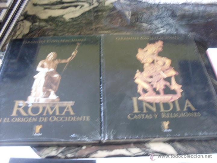 Libros de segunda mano: GRANDES CIVILIZACIONES. COMPLETA EN 10 TOMOS. PRECINTADOS (ED. RUEDA) (EN1D) - Foto 2 - 42944810