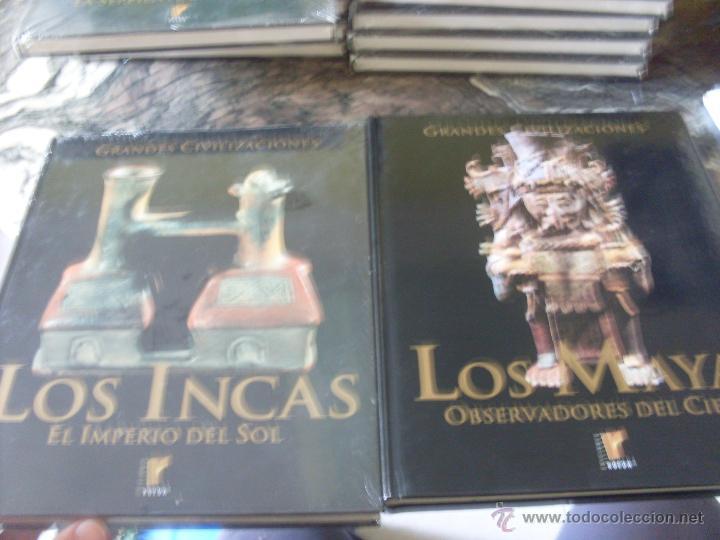 Libros de segunda mano: GRANDES CIVILIZACIONES. COMPLETA EN 10 TOMOS. PRECINTADOS (ED. RUEDA) (EN1D) - Foto 11 - 42944810