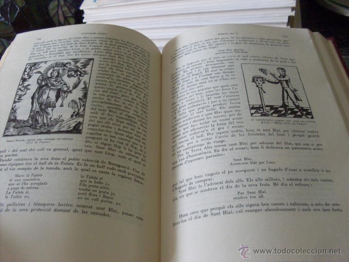 Libros de segunda mano: COSTUMARI CATALA (JOAN AMADES 1982 ) VOL I - IV Y V (EN1E) - Foto 5 - 43387046