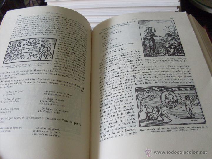 Libros de segunda mano: COSTUMARI CATALA (JOAN AMADES 1982 ) VOL I - IV Y V (EN1E) - Foto 8 - 43387046