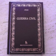 Libros de segunda mano: GUERRA CIVIL. CÉSAR.. Lote 174233055