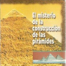Libros de segunda mano: PETER HODGES. EL MISTERIO DE LA CONSTRUCCIÓN DE LAS PIRÁMIDES. RM65641. . Lote 43649800