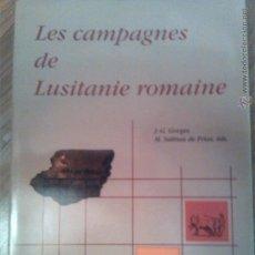 Libros de segunda mano: LES CAMPAGNES DE LUSITANIE ROMAINE. SALAMANCA. ARQUEOLOGÍA. GORGES Y SALINAS DE FRÍAS. LUSITANIA. Lote 44452827