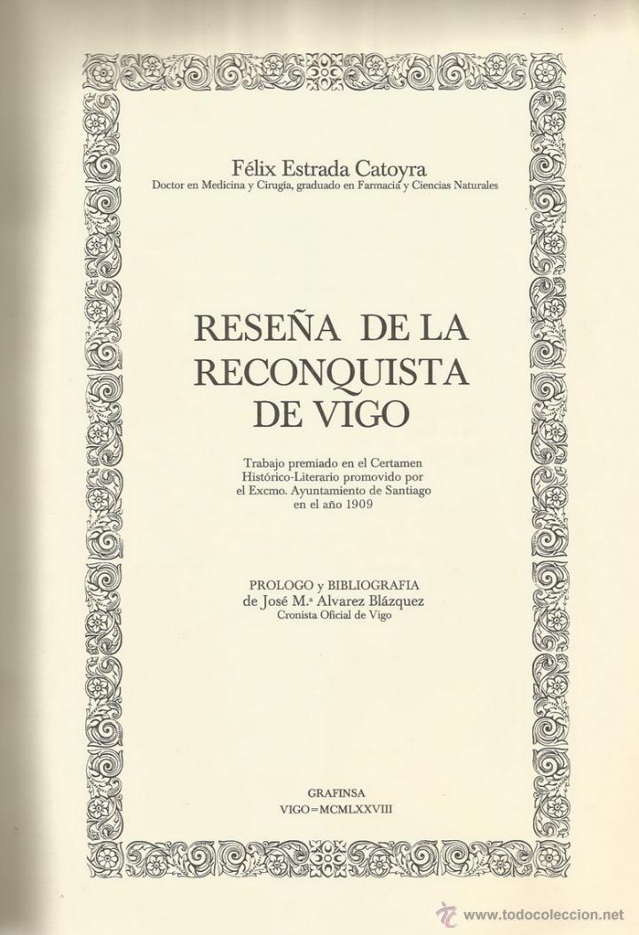 Reconquista de vigo wikipedia la enciclopedia libre - Libreria segunda mano online ...