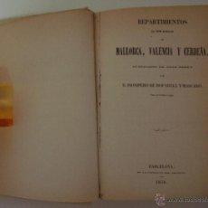 Libros de segunda mano: COLECCION DE DOCUMENTOS INÉDITOS DE LA CORONA DE ARAGÓN.1876. FACSÍMIL.1975.MEDIEVAL.. Lote 45027053