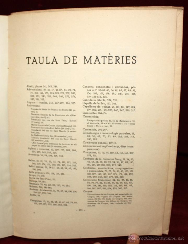 Libros de segunda mano: GIRONA. PETITA HISTÒRIA DE LA CIUTAT I DE LES SEVES TRADICIONS I FOLK-LORE. 1946 - Foto 2 - 45056004