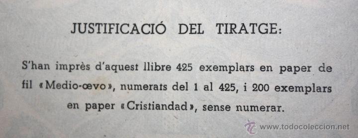 Libros de segunda mano: GIRONA. PETITA HISTÒRIA DE LA CIUTAT I DE LES SEVES TRADICIONS I FOLK-LORE. 1946 - Foto 10 - 45056004