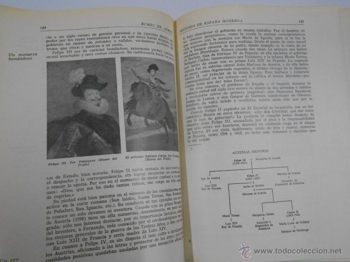 Libros de segunda mano: HISTORIA DE ESPAÑA MODERNA - ANTONIO RUMEU DE ARMAS - ANAYA 1965. TDK208 - Foto 2 - 100197272