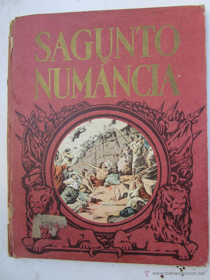 SAGUNTO Y NUMANCIA , LIBRO DE LECTURA ESCOLAR - DALMAU CARLES (Libros de Segunda Mano - Historia Antigua)