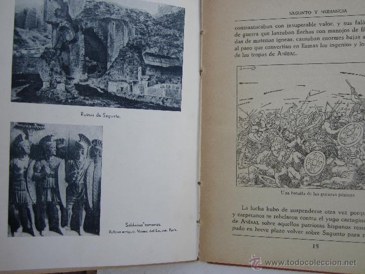 Libros de segunda mano: sagunto y numancia , libro de lectura escolar - dalmau carles - Foto 5 - 46228597