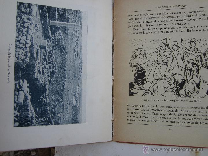 Libros de segunda mano: sagunto y numancia , libro de lectura escolar - dalmau carles - Foto 6 - 46228597