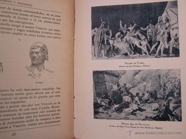 Libros de segunda mano: sagunto y numancia , libro de lectura escolar - dalmau carles - Foto 7 - 46228597