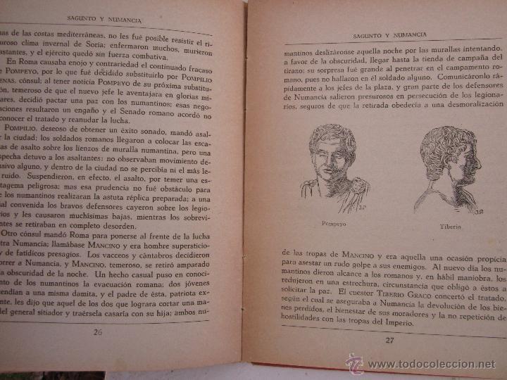 Libros de segunda mano: sagunto y numancia , libro de lectura escolar - dalmau carles - Foto 8 - 46228597