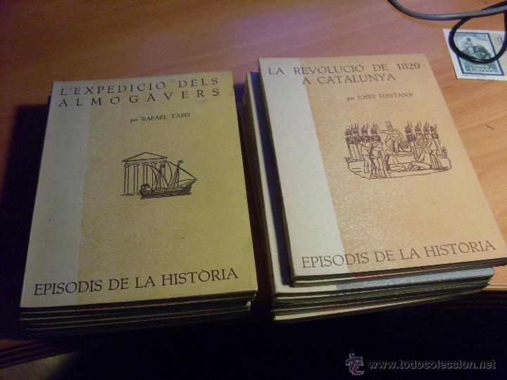 EPISODIS DE LA HISTORIA. VOLMS Nº 1 AL 14 MENYS Nº 11 (LB44) (Libros de Segunda Mano - Historia Antigua)