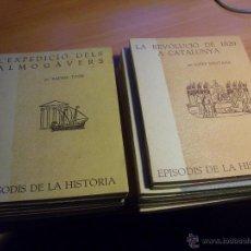 Libros de segunda mano: EPISODIS DE LA HISTORIA. VOLMS Nº 1 AL 14 MENYS Nº 11 (LB44). Lote 46711784