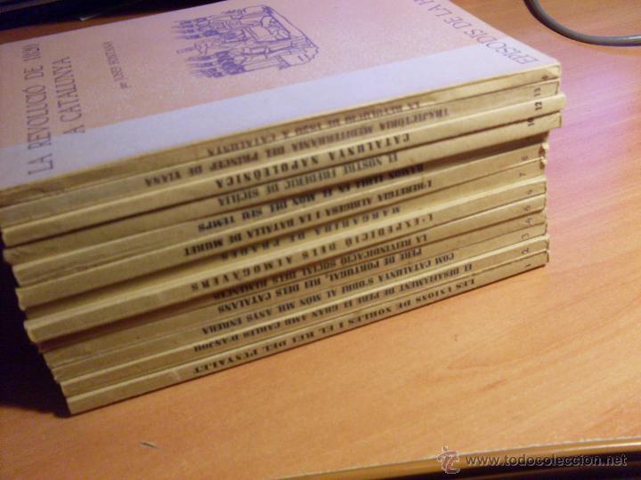 Libros de segunda mano: EPISODIS DE LA HISTORIA. VOLMS Nº 1 AL 14 MENYS Nº 11 (LB44) - Foto 2 - 46711784