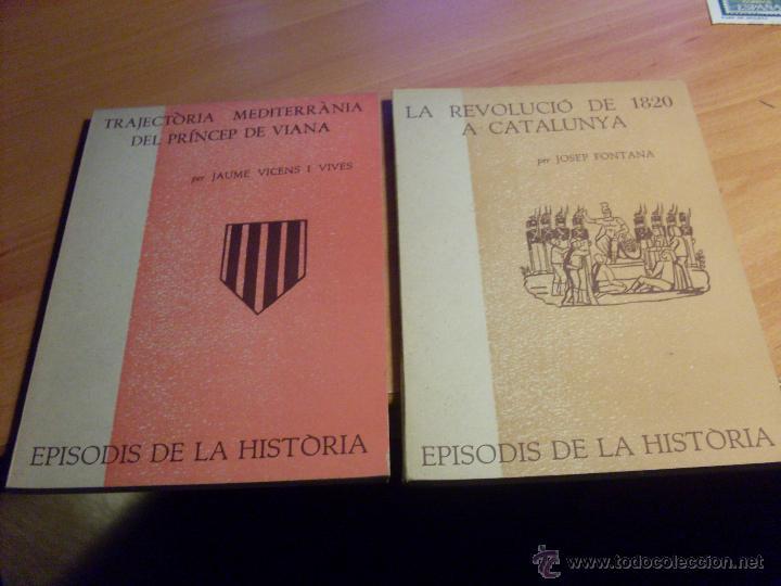 Libros de segunda mano: EPISODIS DE LA HISTORIA. VOLMS Nº 1 AL 14 MENYS Nº 11 (LB44) - Foto 3 - 46711784