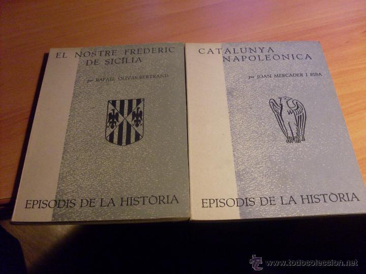 Libros de segunda mano: EPISODIS DE LA HISTORIA. VOLMS Nº 1 AL 14 MENYS Nº 11 (LB44) - Foto 4 - 46711784