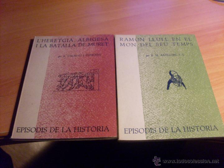 Libros de segunda mano: EPISODIS DE LA HISTORIA. VOLMS Nº 1 AL 14 MENYS Nº 11 (LB44) - Foto 5 - 46711784