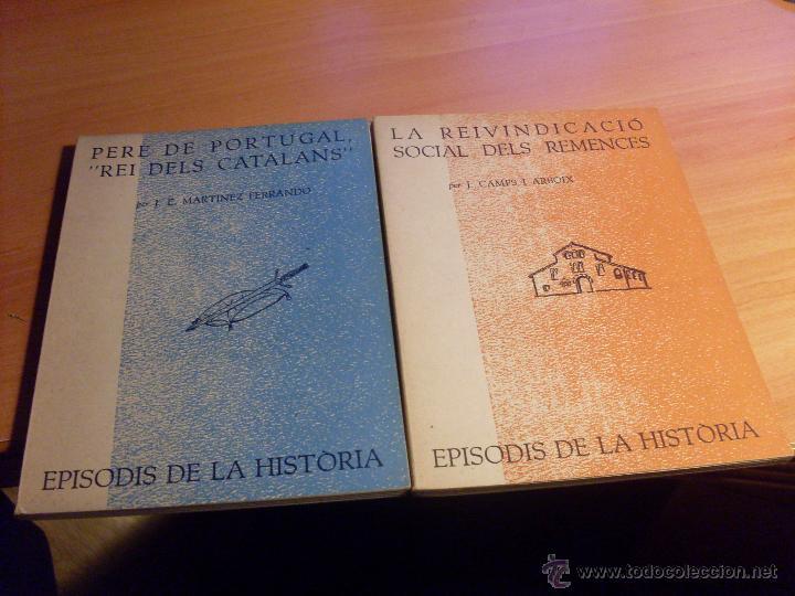 Libros de segunda mano: EPISODIS DE LA HISTORIA. VOLMS Nº 1 AL 14 MENYS Nº 11 (LB44) - Foto 7 - 46711784