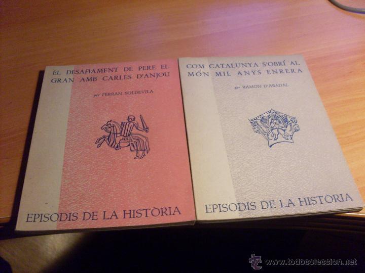 Libros de segunda mano: EPISODIS DE LA HISTORIA. VOLMS Nº 1 AL 14 MENYS Nº 11 (LB44) - Foto 8 - 46711784