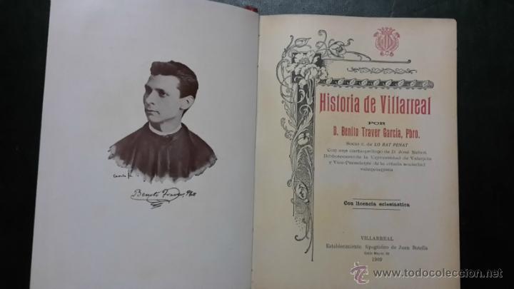 HISTORIA DE VILLARREAL (Libros de Segunda Mano - Historia Antigua)
