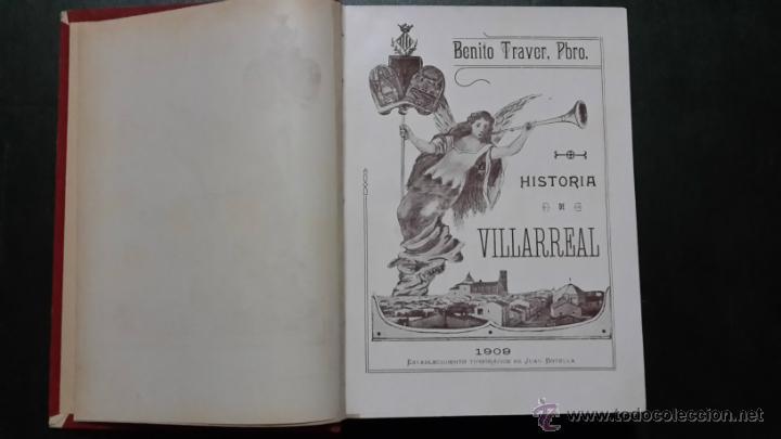 Libros de segunda mano: Historia de villarreal - Foto 3 - 46774600
