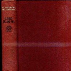Libros de segunda mano: UNIVERSO DE LAS FORMAS : EL SIGLO DEL AÑO MIL (AGUILAR, 1973). Lote 47003615