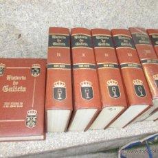 Libros de segunda mano: HISTORIA DE GALICIA - BENITO VICETTO - EDI ENCICLOPEDIA VASCA 1978 7 TOMOS COMPLETA, SIN USO + INFO. Lote 47024106