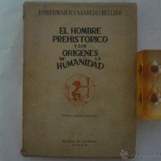 Libros de segunda mano: EL HOMBRE PREHISTORICO Y LOS ORIGENES DE LA HUMANIDAD.1944. REVISTA DE OCCIDENTE. Lote 47123989