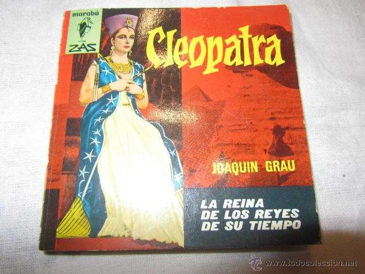 CLEOPATRA LIBRO AÑO 1963 EDITORIAL BRUGUERA DE JOAQUIN GRAU (Libros de Segunda Mano - Historia Antigua)