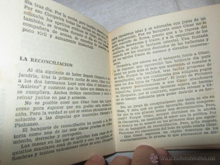 Libros de segunda mano: CLEOPATRA LIBRO AÑO 1963 EDITORIAL BRUGUERA DE JOAQUIN GRAU - Foto 2 - 47124481