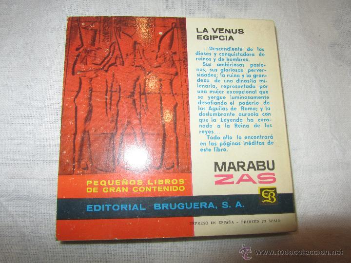 Libros de segunda mano: CLEOPATRA LIBRO AÑO 1963 EDITORIAL BRUGUERA DE JOAQUIN GRAU - Foto 3 - 47124481