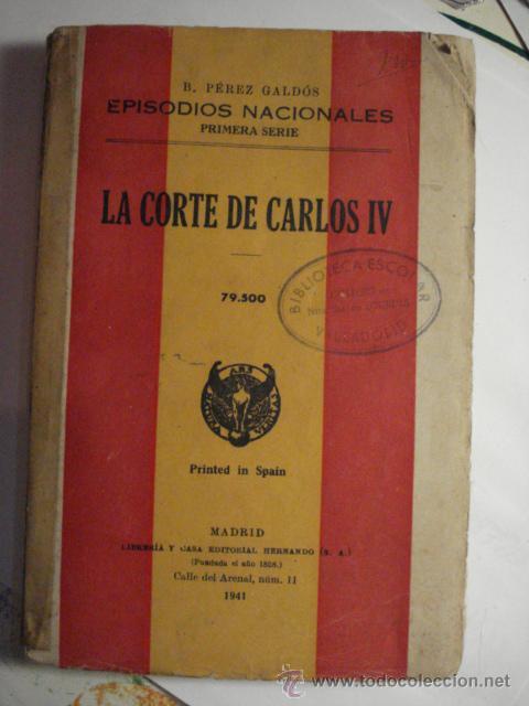 EPISODIOS NACIONALES - BENITO PEREZ GALDOS - PRIMERA SERIE AÑO 1940 - MIRA OTROS EN MI TIENDA (Libros de Segunda Mano - Historia Antigua)