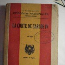 Libros de segunda mano: EPISODIOS NACIONALES - BENITO PEREZ GALDOS - PRIMERA SERIE AÑO 1940 - MIRA OTROS EN MI TIENDA. Lote 48324410