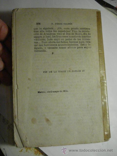 Libros de segunda mano: EPISODIOS NACIONALES - BENITO PEREZ GALDOS - PRIMERA SERIE AÑO 1940 - MIRA OTROS EN MI TIENDA - Foto 2 - 48324410