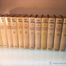 Libros de segunda mano: COLECCION HISTORIA DE ESPAÑA - 12 TOMOS - BARCELONA - 1990 - PERFECTO ESTADO -. Lote 48345954