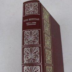 Libros de segunda mano: L- 552. LOS HITITAS. PROF. J. ARIAS CONDEMINAS. DE GASSO HNOS. EDITORES. AÑO 1972. Lote 48883686