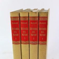 Libros de segunda mano: L1736 - HISTORIA DEL MUNDO POR PIJOAN. SALVAT EDITORES AÑO 1963. 4 TOMOS. Lote 49785509
