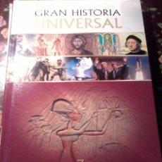 Libros de segunda mano: GRAN HISTORIA UNIVERSAL. 3. EGIPTO Y LOS GRANDES IMPERIOS. EST3B2. Lote 50241638