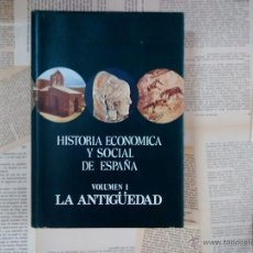 Libros de segunda mano: 'HISTORIA ECONÓMICA Y SOCIAL DE ESPAÑA. VOLUMEN I: LA ANTIGÜEDAD' - V. VAZQUEZ DE PRADA. Lote 50611669