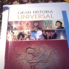 Libros de segunda mano: GRAN HISTORIA UNIVERSAL 3. EGIPTO Y LOS GRANDES IMPERIOS. EST18B3. Lote 50992259