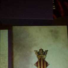 Libros de segunda mano: LLIBRE EL CONSOLAT DEL MAR EDICIÓN FACSÍMIL VICENT GARCÍA EDITORES 1977. Lote 51187013
