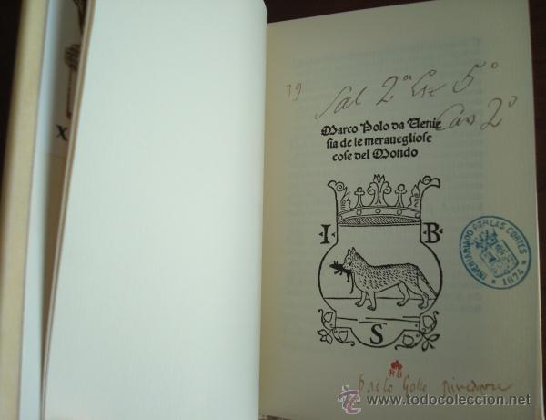 DELLE COSE MARAVIGLIOSE DEL MONDO, DE MARCO POLO, INCUNABLE DE VENECIA 1496 (Libros de Segunda Mano - Historia Antigua)