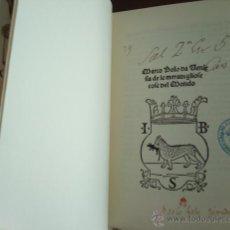 Libros de segunda mano - Delle cose maravigliose del mondo, de Marco Polo, incunable de Venecia 1496 - 51928724