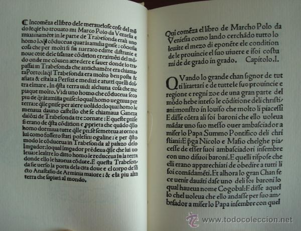 Libros de segunda mano: Delle cose maravigliose del mondo, de Marco Polo, incunable de Venecia 1496 - Foto 2 - 51928724