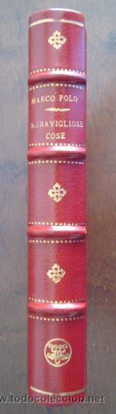 Libros de segunda mano: Delle cose maravigliose del mondo, de Marco Polo, incunable de Venecia 1496 - Foto 6 - 51928724